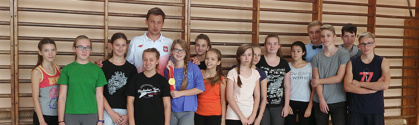 Spotkanie z mistrzem olimpijskim…