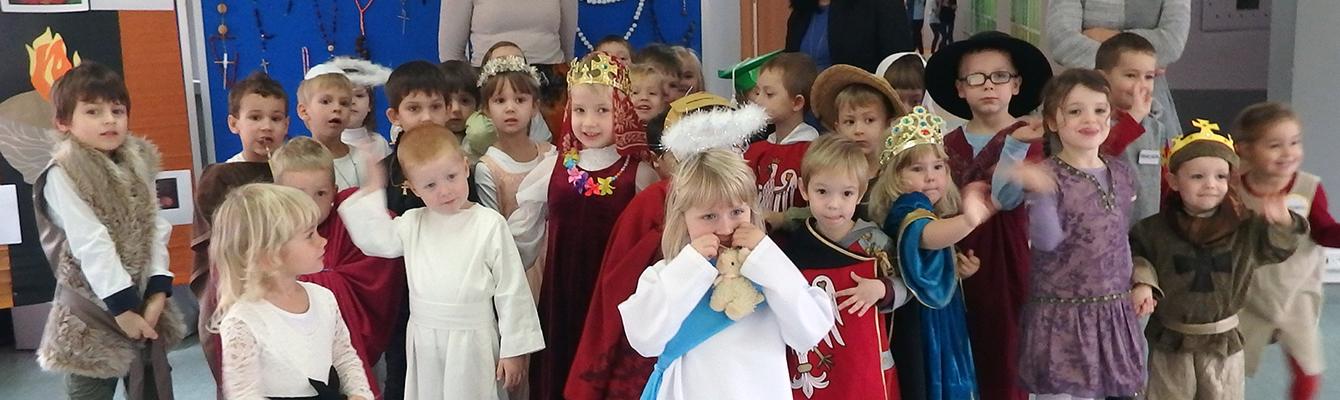Bal Wszystkich Świętych w przedszkolu
