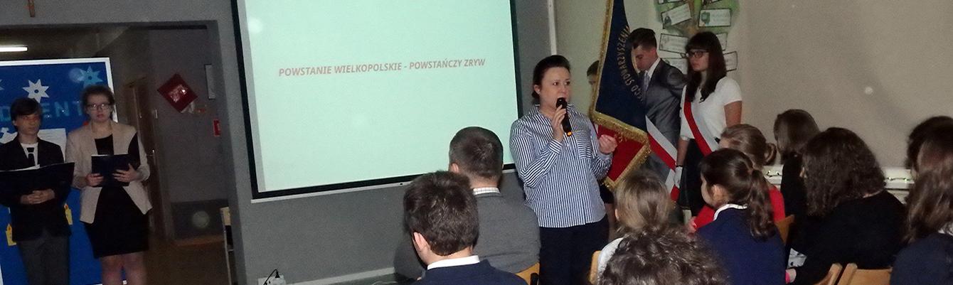 Powstanie Wielkopolskie – szkolne obchody