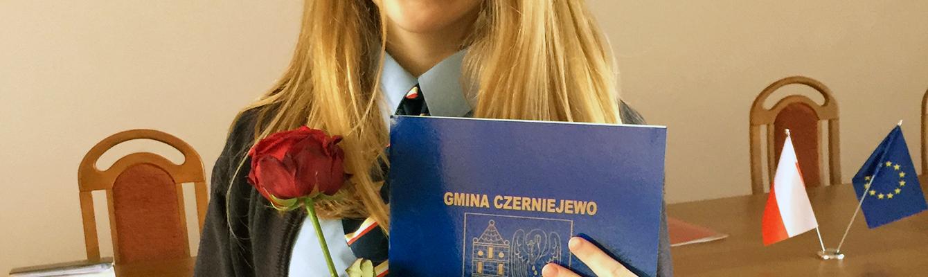 Julia Jezierska – stypendium gminne