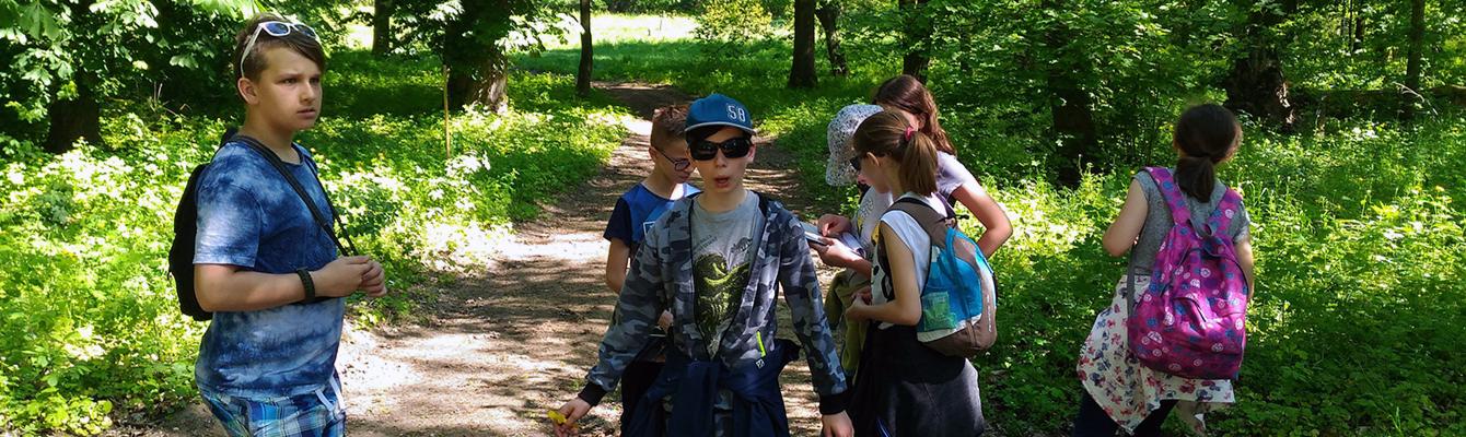Wycieczka 5 klasy do Ośrodka Edukacji Przyrodniczej w Chalinie