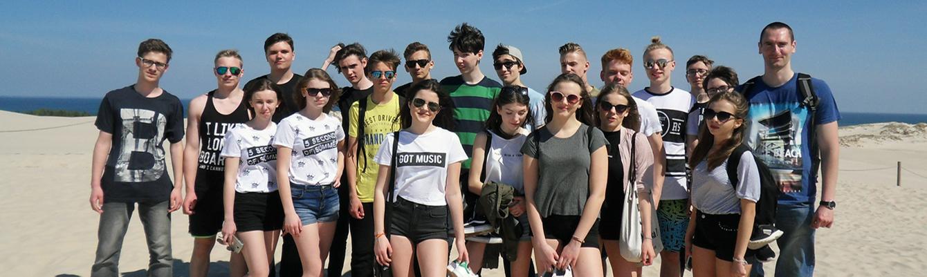 Nadmorska wyprawa, kilka słów  o wycieczce gimnazjalistów do Łeby