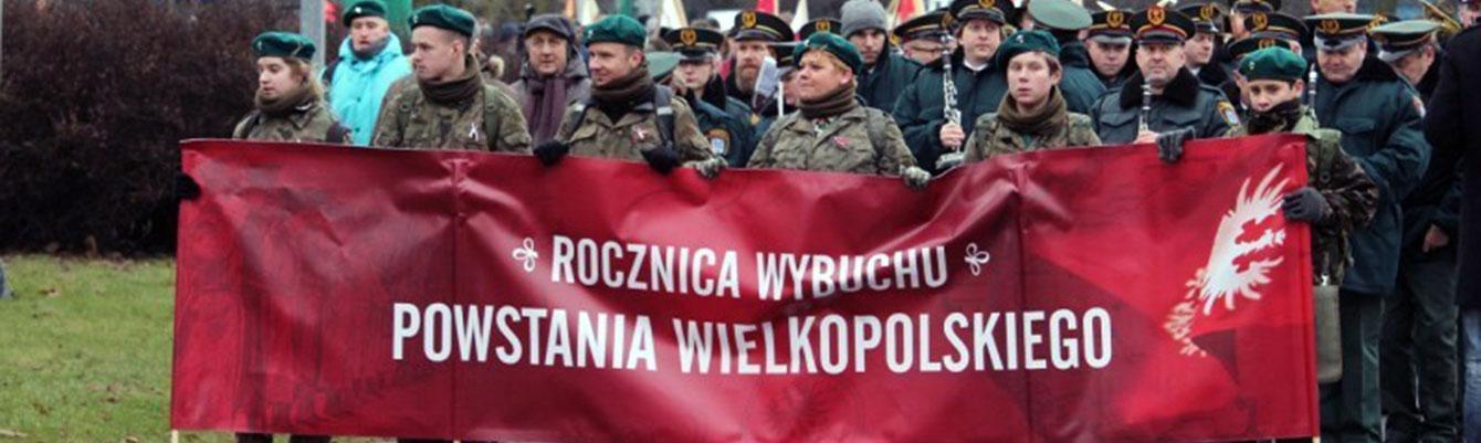 99-ta rocznica wybuchu Powstania Wielkopolskiego