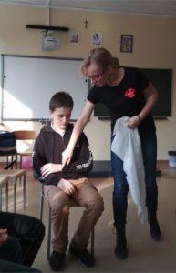 Szkolenie z zakresu udzielania pierwszej pomocy- klasa 6