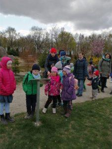 Wycieczka przedszkolaków do Deli Parku