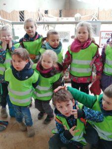 Wycieczka przedszkolaków do Nowego ZOO