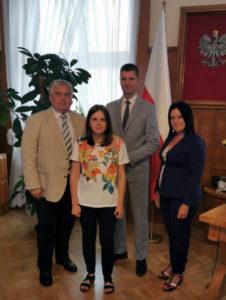 Przedstawiciele Zarządu KSW Oddział w Poznaniu spotkali się z Ministrem Edukacji Narodowej Dariuszem Piontkowskim