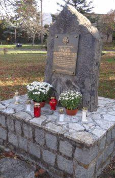 Upamiętnienie śmierci druha Pietrzykowskiego