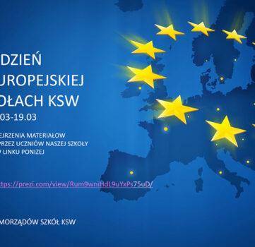 TYDZIEŃ UNII EUROPEJSKIEJ W SZKOŁACH KSW