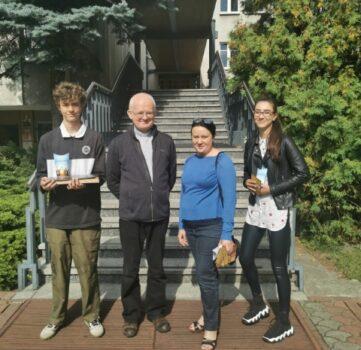 Z młodzieżą LO spotkał się z ks. dr Paweł Melczewski SChr